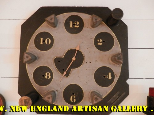 #ACC-0190 Antique Foundry Mold Clock