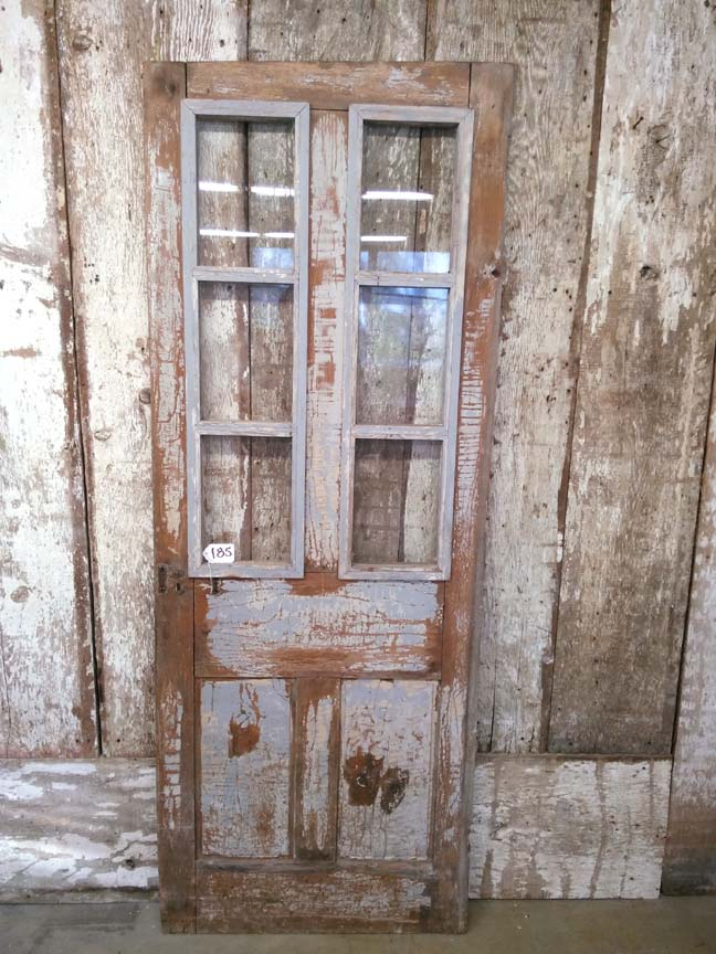 185 Door with Glass - $165
