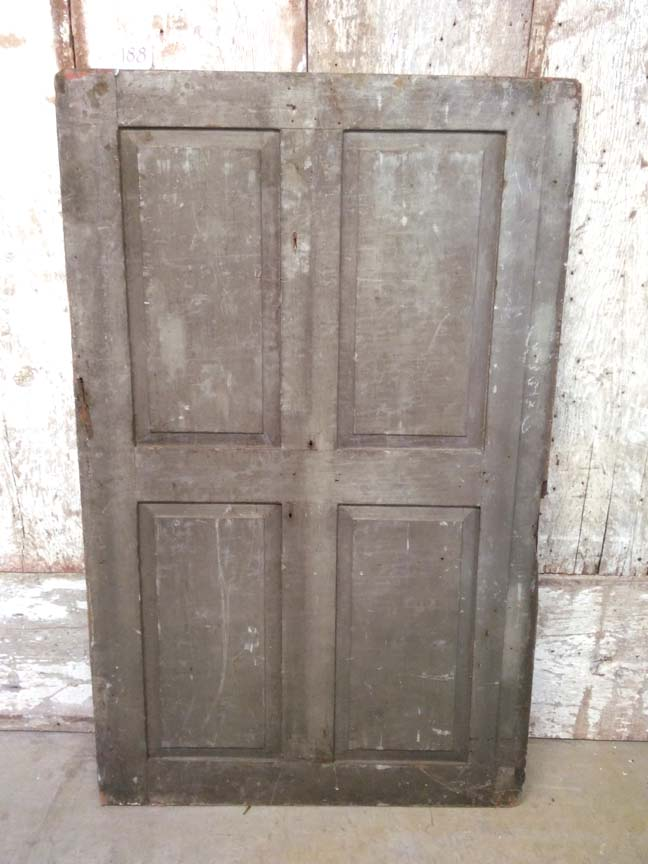 188 - Early Reclaimed Door - $62