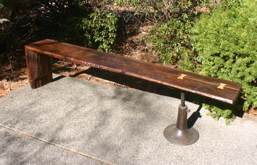 BN-15 and BN-16 Oak Tree Plank Benches