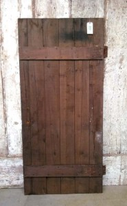 101 Barn Door - batten side
