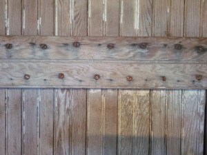 186 Barn Door - closeup