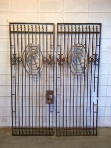 213 Vintage Steel Gates Doors - fullview