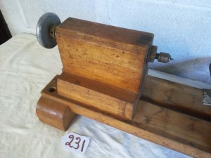 231 wood lathe - left side