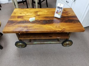 CART COFFEE TABLE 1