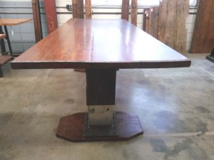 DT-98 Trestle Table - end view