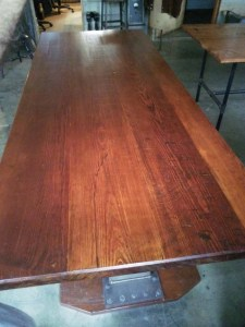 DT-98 Trestle Table - top