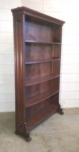 SH-08 Walnut Bookcase - fullview