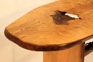 #SP-06 Live Edge Brown Ash Table